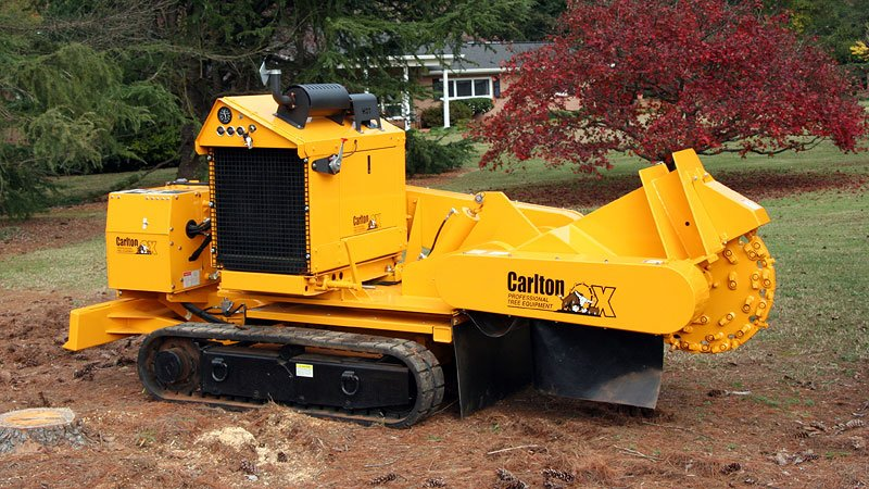 Stump Grinder Narrow Track Machine submited images.